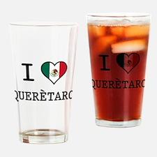 I Love Queretaro Pint Glass