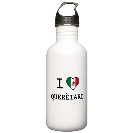 I Love Queretaro Stainless Water Bottle 1.0L