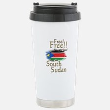 South Sudan Free at last! Stainless Steel Travel M