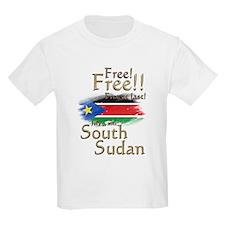 South Sudan Free at last! T-Shirt