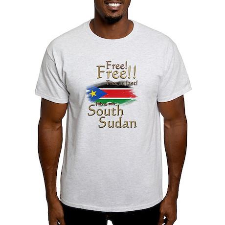 South Sudan Free at last! Light T-Shirt
