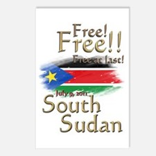South Sudan Free at last! Postcards (Package of 8)