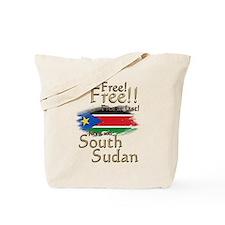 South Sudan Free at last! Tote Bag