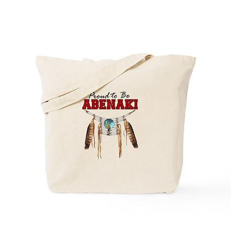 Proud to be Abenaki Tote Bag