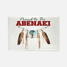 Proud to be Abenaki Rectangle Magnet