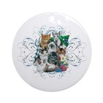 Cuddly Kittens Ornament (Round)