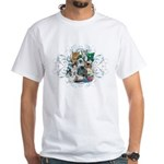 Cuddly Kittens White T-Shirt