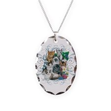 Cuddly Kittens Necklace