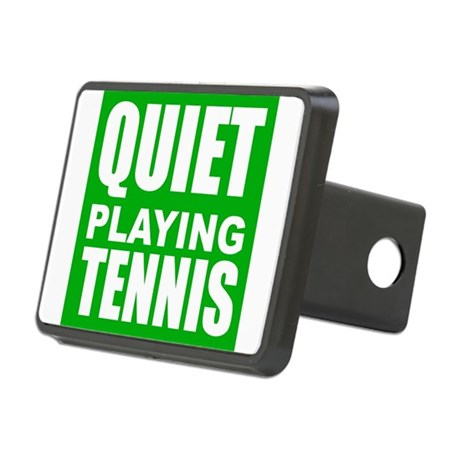 Quiet Playing Tennis Hitch Cover