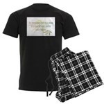 For everything there is a season Men's Dark Pajama