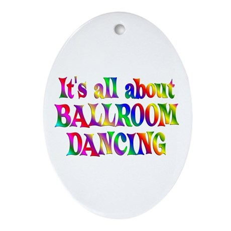 About Ballroom Ornament (Oval)