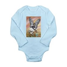 Nexus the Dark Fairy Long Sleeve Infant Bodysuit