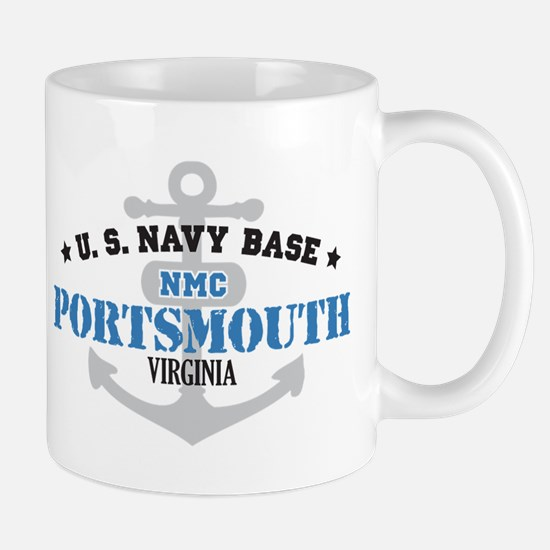 US Navy Portsmouth Base Mug