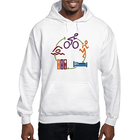 Tri Cycle Hooded Sweatshirt