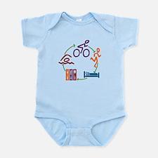 Tri Cycle Infant Bodysuit
