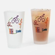 Tri Cycle Pint Glass