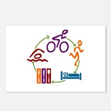Tri Cycle Postcards (Package of 8)