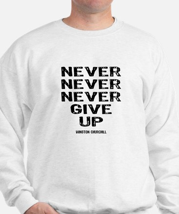 Never Give Up Jumper