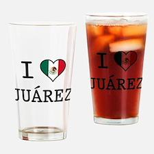I Love Juarez Pint Glass