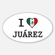 I Love Juarez Decal