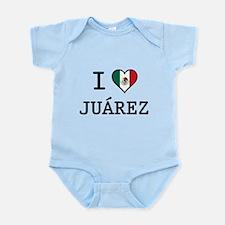 I Love Juarez Infant Bodysuit