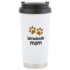 Cute Labradoodle Mom Travel Mug