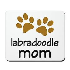 Cute Labradoodle Mom Mousepad