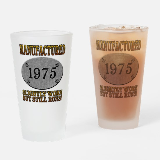 Manufactured 1975 Pint Glass