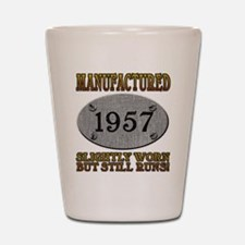 Manufactured 1957 Shot Glass