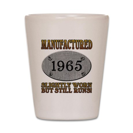 Manufactured 1965 Shot Glass