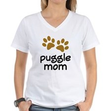 Cute Puggle Mom Shirt