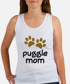 Cute Puggle Mom Women's Tank Top