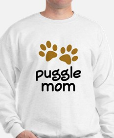 Cute Puggle Mom Sweatshirt