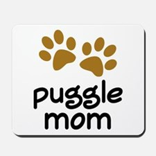 Cute Puggle Mom Mousepad