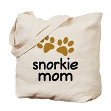 Cute Snorkie Mom Tote Bag