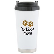 Cute Yorkipoo Mom Travel Mug