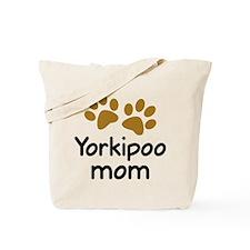 Cute Yorkipoo Mom Tote Bag