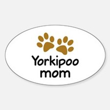 Cute Yorkipoo Mom Decal