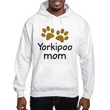 Cute Yorkipoo Mom Hoodie
