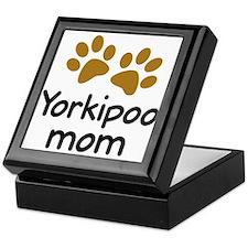 Cute Yorkipoo Mom Keepsake Box