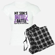 My Battle Too Hodgkin's Lymphoma Pajamas