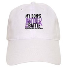 My Battle Too Hodgkin's Lymphoma Baseball Baseball Cap