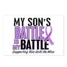 My Battle Too Hodgkin's Lymphoma Postcards (Packag