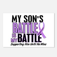 My Battle Too Hodgkin's Lymphoma Postcards (Packag