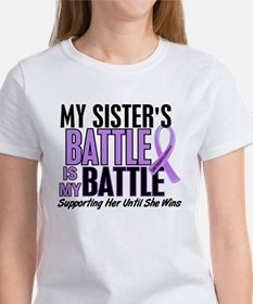 My Battle Too Hodgkin's Lymphoma Women's T-Shirt