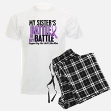 My Battle Too Hodgkin's Lymphoma Pajamas