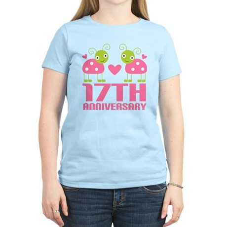 17th Anniversary Gift Women's Light T-Shirt