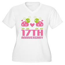 17th Anniversary Gift T-Shirt