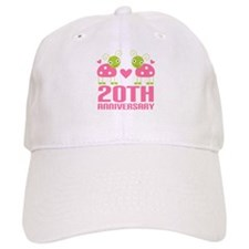 20th Anniversary Gift Baseball Cap