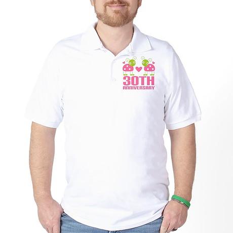 30th Anniversary Gift Golf Shirt